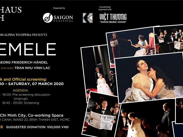 Opera Talk & Screening: Semele