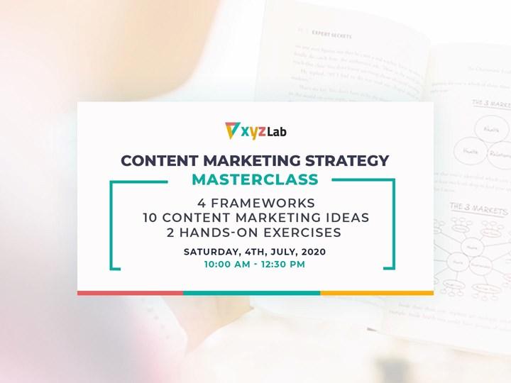 Content Marketing Strategy Masterclass
