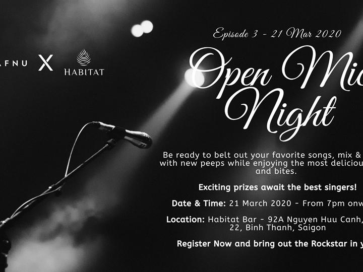 Open Mic Night 3