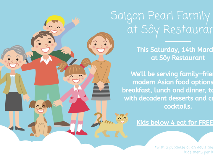 Family Day at Sôy Restaurant